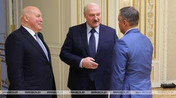 Игорь Кобзев встретился с президентом Беларуси Александром Лукашенко