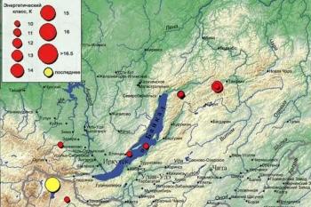 Землетрясение произошло в Иркутске 12 января: эпицентр находился в Монголии