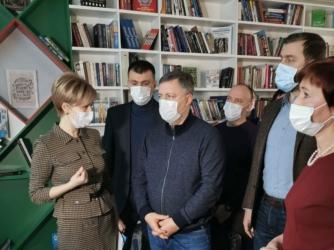 Губернатор Игорь Кобзев посетил ряд социальных объектов Черемхово